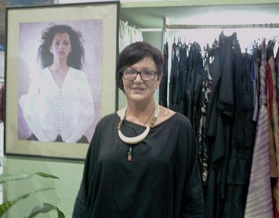 Lourdes Trigo, diseñadora de vestuario.