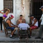 Yoga in the Streets of Havana